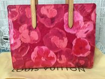 Louis Vuitton Flower Patterns Tropical Patterns Totes