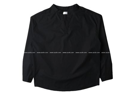 ASCLO Shirts Street Style Collaboration Long Sleeves Plain Cotton Shirts 13
