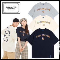 ROMANTIC CROWN Unisex Street Style T-Shirts