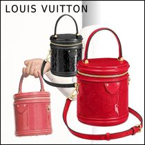 Louis Vuitton MONOGRAM VERNIS 2019-20AW CANNES MONOGRAM rouge noir shoulder bags