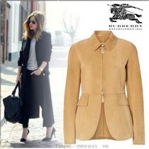 Burberry Suede Jackets