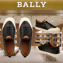 BALLY Bi-color Leather Sneakers