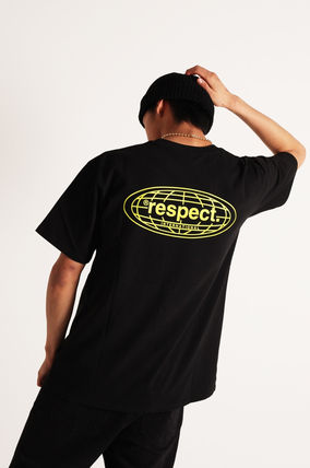 RESPECT More T-Shirts Unisex Street Style Short Sleeves T-Shirts 11
