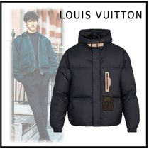 Louis Vuitton 2019-20AW LV STAPLES EDITION DOWNFILLED HOODY BLOUSON black