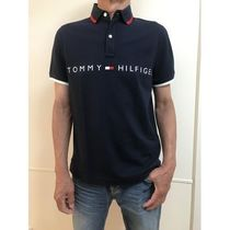 Tommy Hilfiger Cotton Short Sleeves Logos on the Sleeves Logo Polos