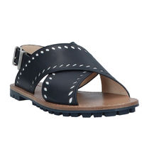 JIL SANDER NAVY Leather Sandals Sandal