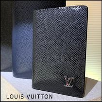 Louis Vuitton Unisex Plain Card Holders