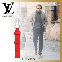 Louis Vuitton TAURILLON Blended Fabrics Street Style Leather Keychains & Holders