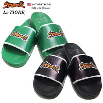 Le TIGRE Unisex Street Style Other Animal Patterns Shower Shoes