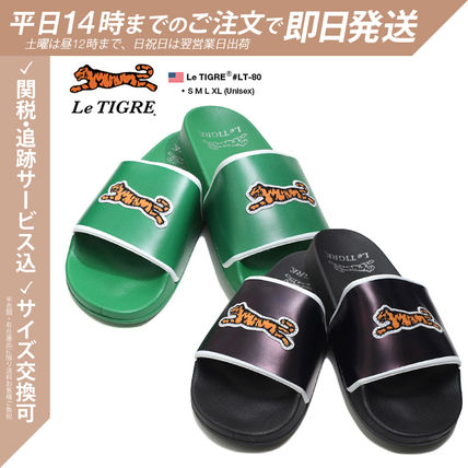 Unisex Street Style Other Animal Patterns Shower Shoes
