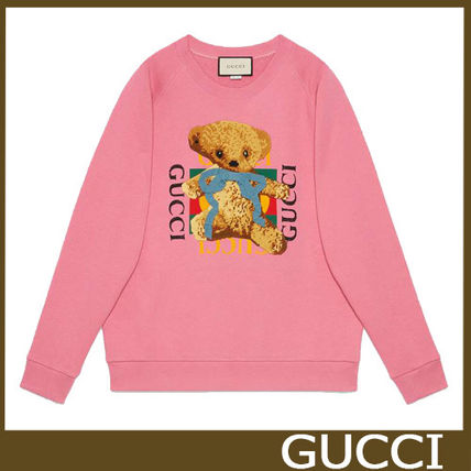 76c8f3c7be GUCCI Long Sleeves Other Animal Patterns Cotton Oversized (489677 X9N17  5681)