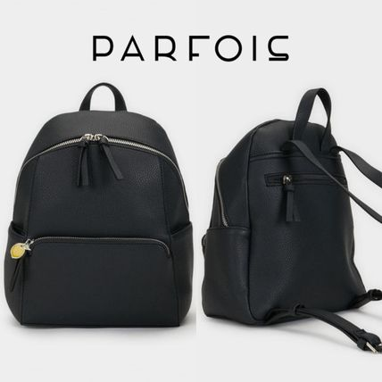 Casual Style 2WAY Plain Backpacks