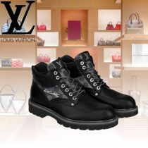 Louis Vuitton Other Check Patterns Mountain Boots Leather Outdoor Boots