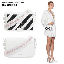 Off-White Stripes Casual Style Blended Fabrics Street Style 2WAY
