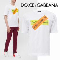 Dolce & Gabbana Unisex Cotton Short Sleeves T-Shirts