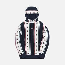 KITH NYC Hoodies Stripes Street Style Collaboration Long Sleeves Cotton 4