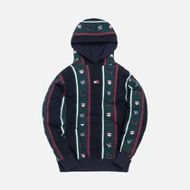 KITH NYC Hoodies Stripes Street Style Collaboration Long Sleeves Cotton 10