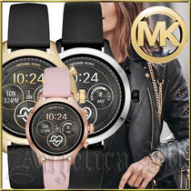 Michael Kors RUNWAY Casual Style Unisex Blended Fabrics Silicon Round