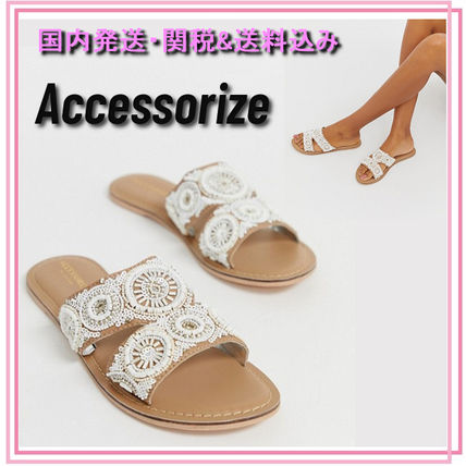 Open Toe Casual Style Blended Fabrics Shower Shoes