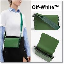 Off-White Casual Style Plain Shoulder Bags