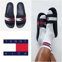 KITH NYC Street Style Collaboration Logo Sandals