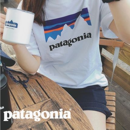 Patagonia More T-Shirts Unisex Street Style Short Sleeves T-Shirts