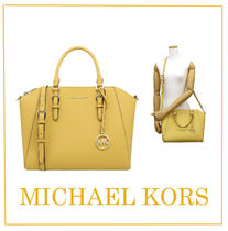 Michael Kors Saffiano A4 Plain Office Style Oversized Totes