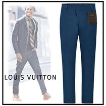 Louis Vuitton 2019-20AW COTTON CHINOS blue pants