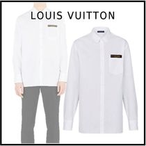 Louis Vuitton 2019-20AW LV STAPLES EDITION DNA SHIRT white shirts