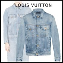 Louis Vuitton 2019-20AW LV STAPLES EDITION DNA DENIM JACKET indigo jackets