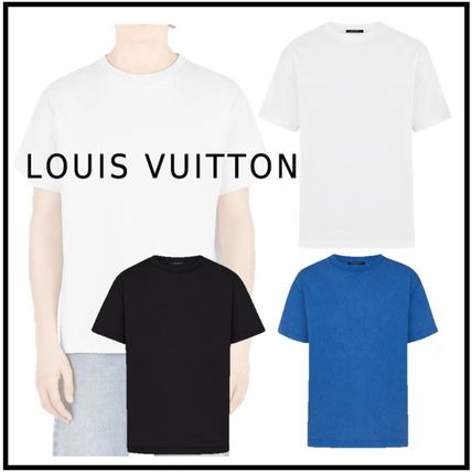 Louis Vuitton More T-Shirts Plain Cotton Short Sleeves T-Shirts