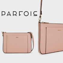 PARFOIS Casual Style 2WAY Plain Shoulder Bags