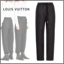 Louis Vuitton 2019-20AW CARROT PANTS black 34-40 Pants
