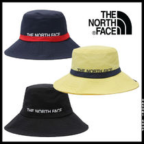 THE NORTH FACE WHITE LABEL Unisex Street Style Wide-brimmed Hats