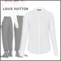 Louis Vuitton 2019-20AW LONG SLEEVED SHIRT white 34-44 shirt