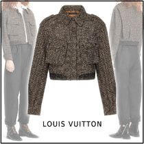 Louis Vuitton 2019-20AW BOMBER JACKET brown 34-40 jacket
