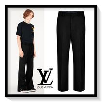 Louis Vuitton Slax Pants Plain Cotton Slacks Pants
