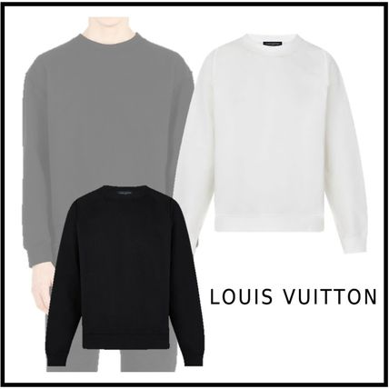 Louis Vuitton Sweatshirts 2019-20AW INSIDE OUT CREWNECK SWEATSHIRT bronle noir XS-4L