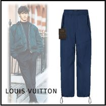 Louis Vuitton 2019-20AW CARGO WIDE LEG PANTS blue 38-44 pants