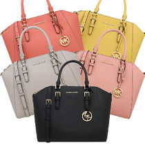 Michael Kors A4 2WAY Leather Totes