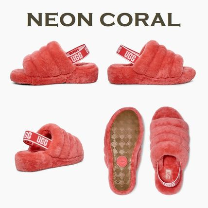 coral ugg slippers