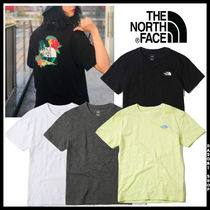 THE NORTH FACE WHITE LABEL Unisex Street Style T-Shirts