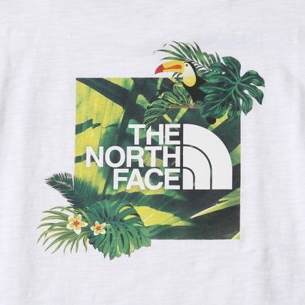 THE NORTH FACE More T-Shirts Unisex Street Style Logo Outdoor T-Shirts 9