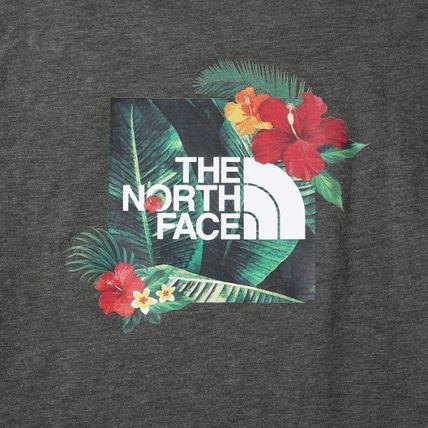 THE NORTH FACE More T-Shirts Unisex Street Style Logo Outdoor T-Shirts 13