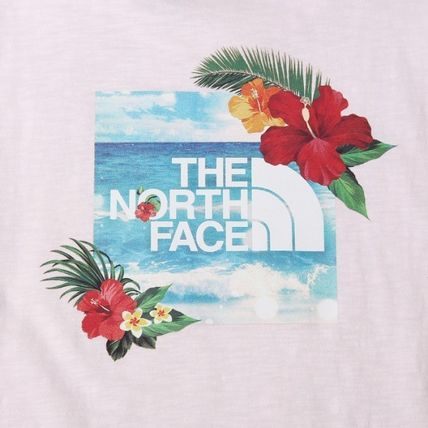 THE NORTH FACE More T-Shirts Unisex Street Style Logo Outdoor T-Shirts 16