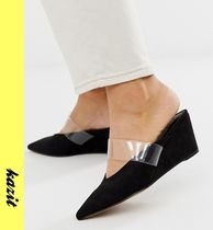 ASOS Casual Style Wedge Pumps & Mules