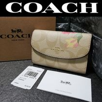 Coach Leather Keychains & Bag Charms