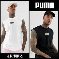 PUMA Plain Cotton Tanks