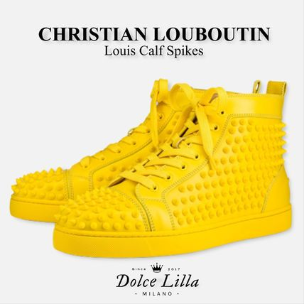 big sale 56a47 4a196 Christian Louboutin 2019 SS Sneakers (Louis Calf Spikes, 1101083Y143)