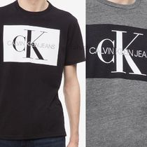 Calvin Klein CALVIN KLEIN JEANS Crew Neck Cotton Short Sleeves Crew Neck T-Shirts